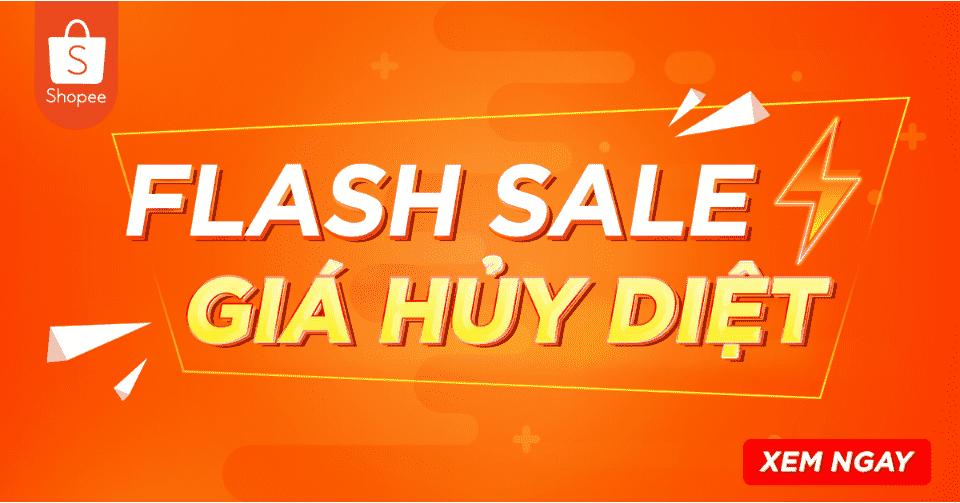 Shopee flash sales