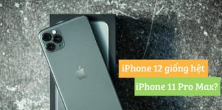 iphone 12 se giong iphone 11 pro max